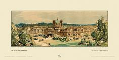 Harrogate, Royal Baths by Sir Henry George Rushbury