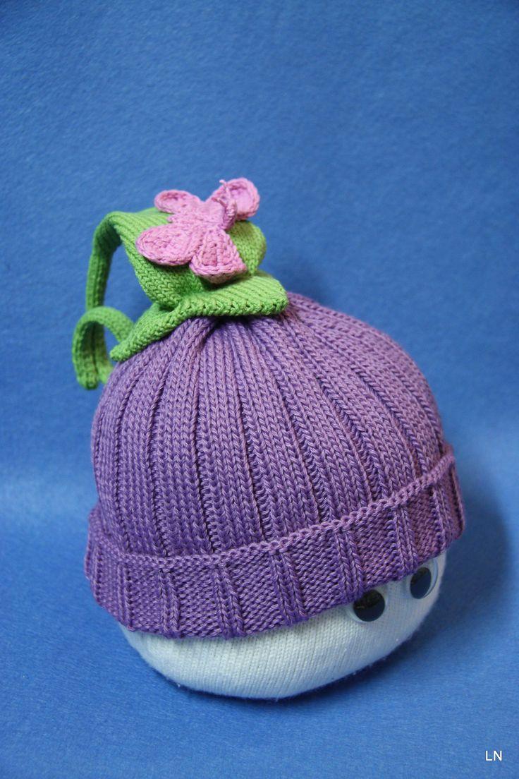 Bellflower & Butterfly -hat :)