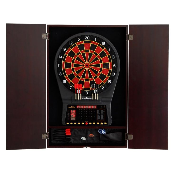 Metropolitan Dart Board Solid Wood Cabinet for Electronic Dart Boards - 40-040