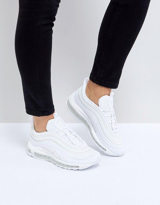 buy popular 78172 d7947 Nike   Nike Air Max 97 Ultra  17 Trainers In All White