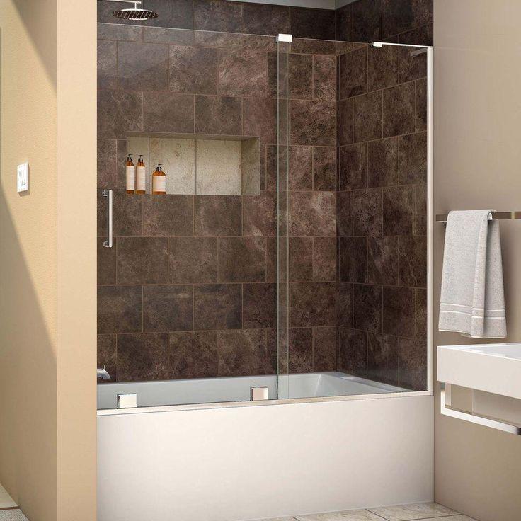 10 best shower doors images on Pinterest | Bathroom ideas, Bathrooms ...