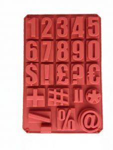 Силиконовая Форма Арифметика Цифры 60 х 40 х 2,5 см