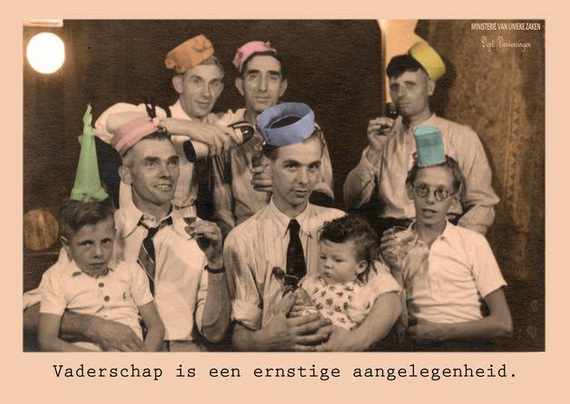 New Baby – vaderschap – a unique product by Ministerie-Van-Unieke-Zaken on DaWanda