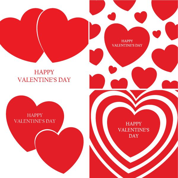 happy valentines day vector - Valentines Pictures Free
