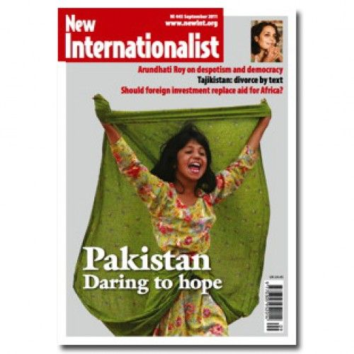 New Internationalist magazine - focuses on global social justice and sustainable development.