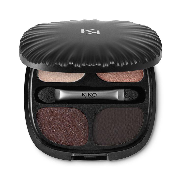 Palette con 4 ombretti - Neo Muse Eyeshadow Palette – KIKO MILANO