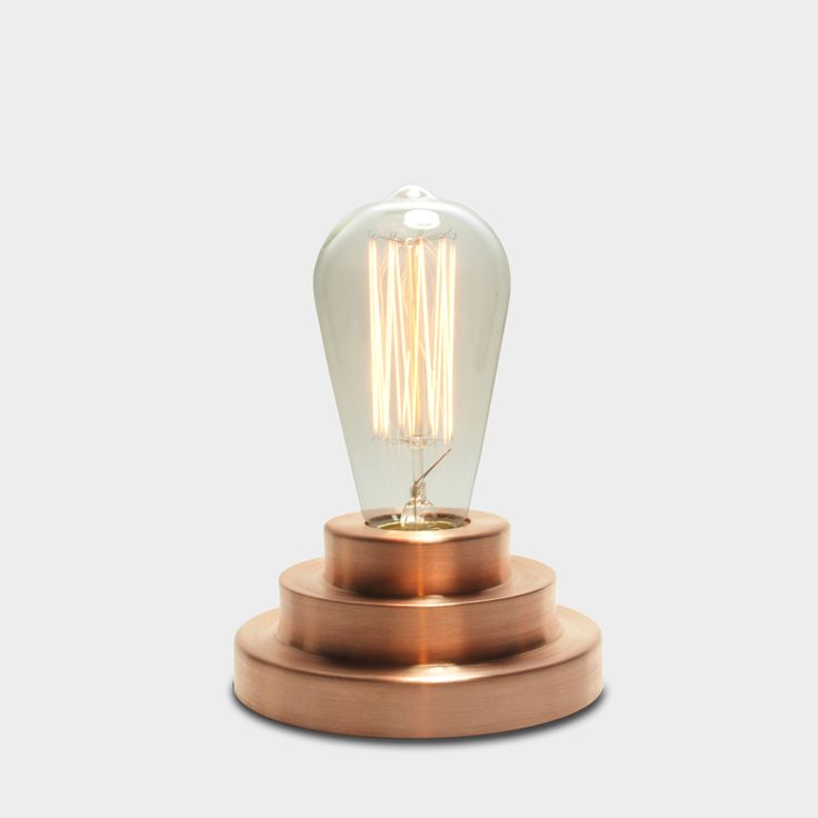 Podium Lamp in Copper | SLOW