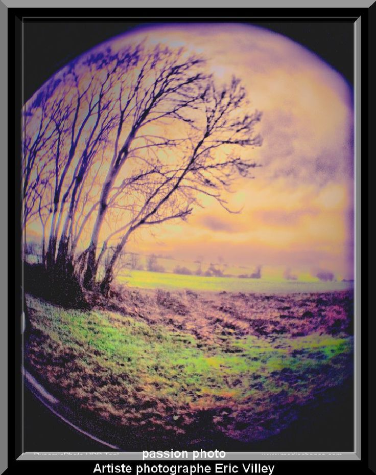 the Earth is round... landscape of Haute Marne by Artiste photographe -ERIC VILLEY
