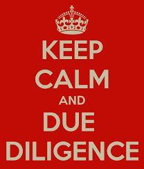 """Résultat de recherche d'images pour """"Due Diligence"""""""