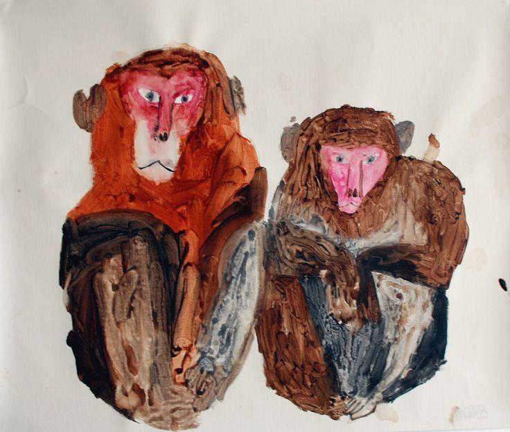 2 monkeys // Mirocomachiko