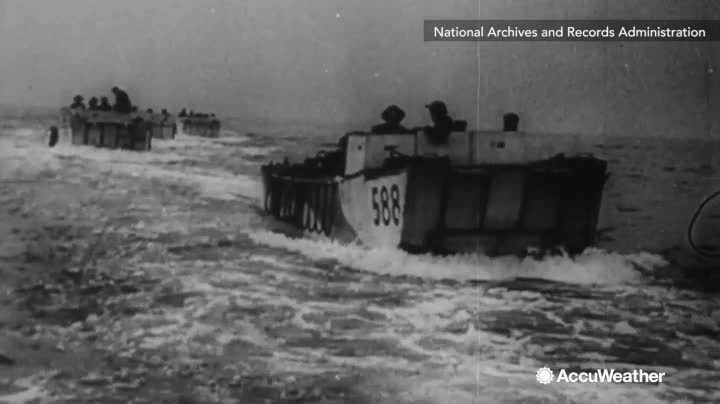 On June 6, 1944, the Allies stormed the beaches of Normandy, France. A major turning point in World War II, the date in which D-Day was to be on was heavily influenced by weather. One mistake in the forecast and history could be very different.