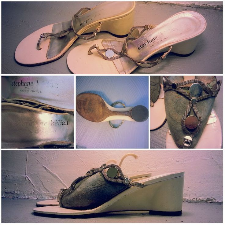 Chaussures STEPHANE KELIAN, Taille 4½, 39.- Collection privée © Solo-Mâtine