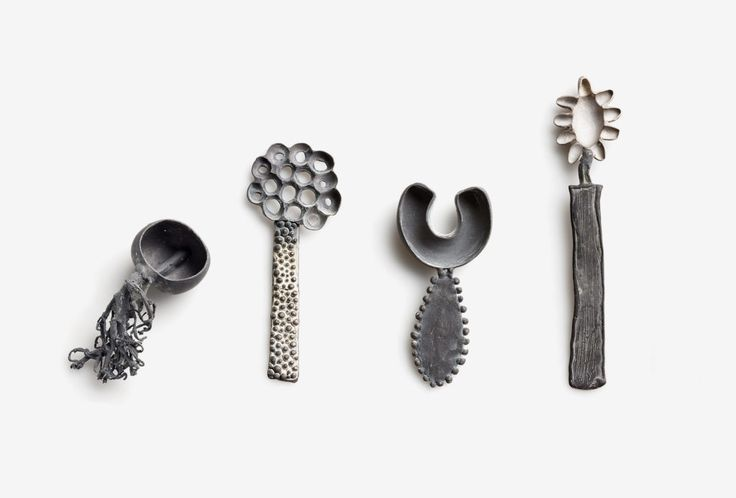 """""""Spoon from the creatura serie"""" by Gabi Veit. 925 silver."""