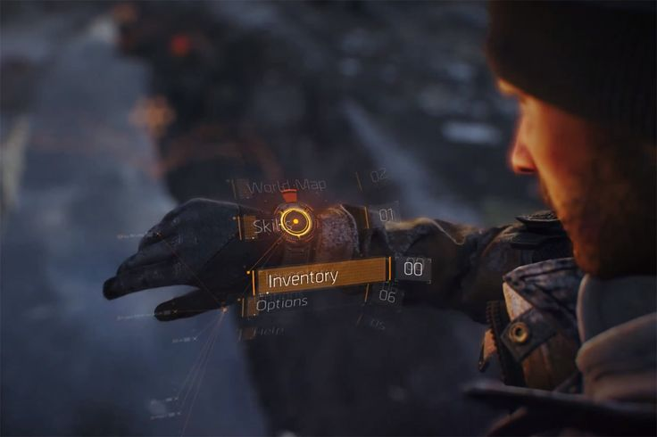 Tom Clancy's The Division - in game HUD