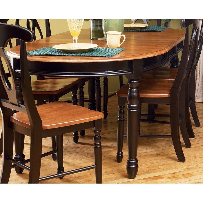 Shelburne 7 Piece Extendable Solid Wood Dining Set Oval Table Dining Solid Wood Dining Set Dining Table