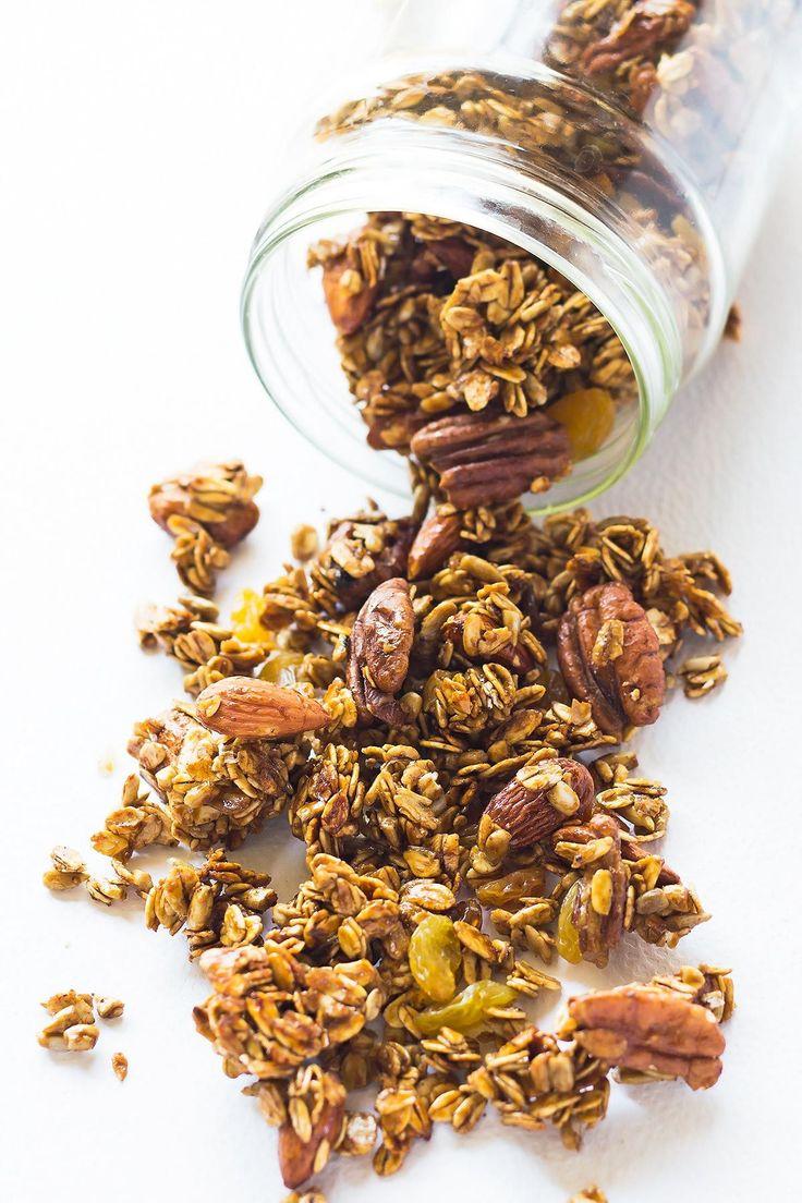 Perník Čisté Jídlo Granola v Jar