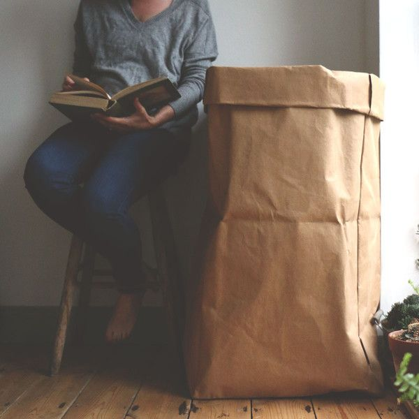 Uashmama Washable Paper Bag Gigante   The Future Kept
