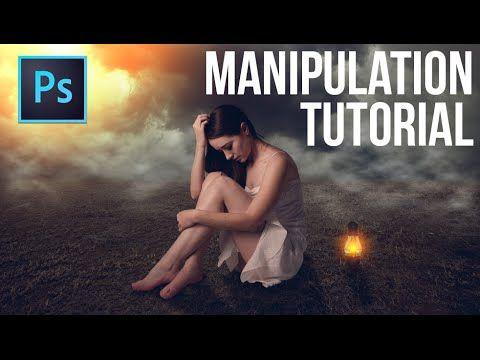 Photoshop Manipulation Tutorial ( Foggy Night ) - YouTube