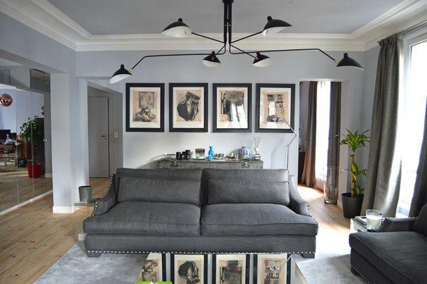 Rideaux d co int rieure pinterest salons - Rideaux decoration interieure salon ...