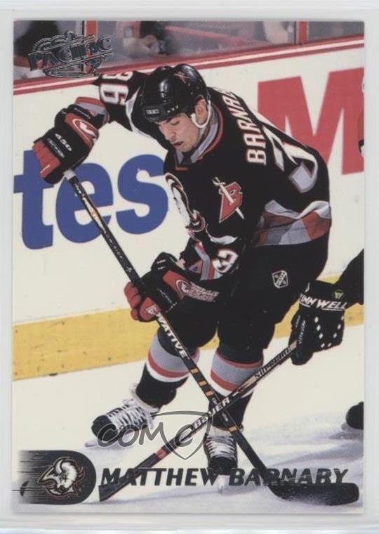1998-99 Pacific #36 Matthew Barnaby Buffalo Sabres Hockey Card