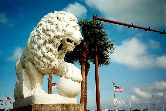 Bridge of lions St. Augustine,fl