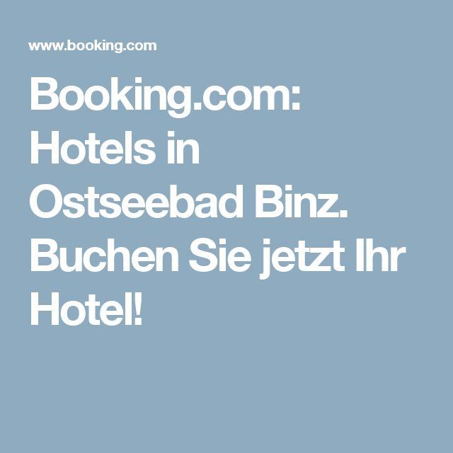 Booking.com:  Hotels in Ostseebad Binz.  Buchen Sie jetzt Ihr Hotel!