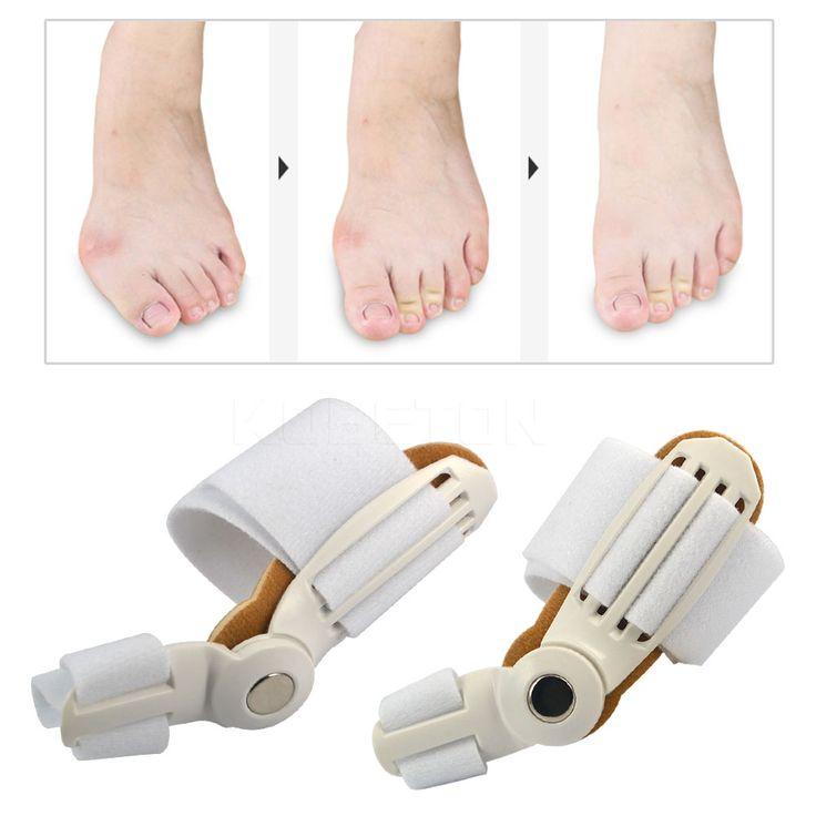 NEW 2pcs/lot Toe Separator 24 Hours Bunion Orthotics Pedicure Hallux Valgus Pro Orthopedic Adjust Big Toe Pain Relief Feet Care