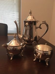 Vintage 3 piece Silverplate Tea Set Sorrento Joondalup Area Preview