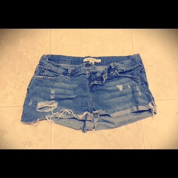 Size 26 Forever 21 jean shorts Good condition. Size 26 Forever 21 Jean shorts. Forever 21 Shorts Jean Shorts