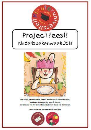 Een vrolijk project van 3 weken  rondom 'Feest!' met reken- en taalactiviteiten, spellessen en suggesties voor de hoeken aan de hand van het boek 'Rikki is jarig' van Guido van Genechten. Ideaal voor gebruik tijdens de kinderboekenweek.