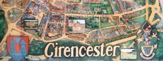 Cirencester map