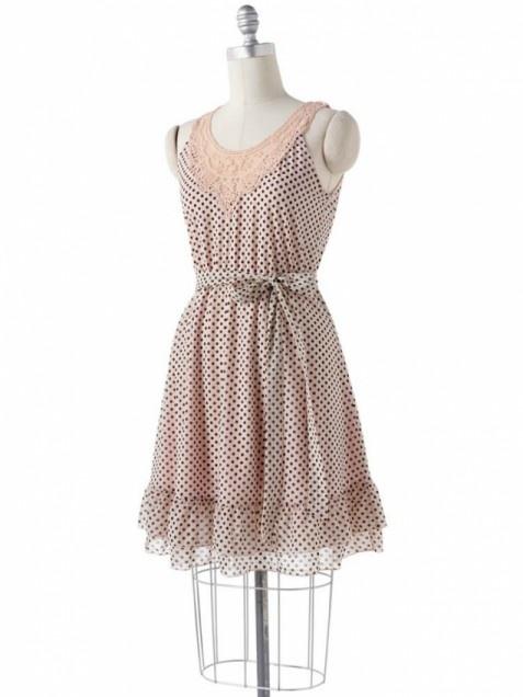 Elle polka dot dress, Elle dress, polka dot dress, spring dress, summer dress, wedding guest dress