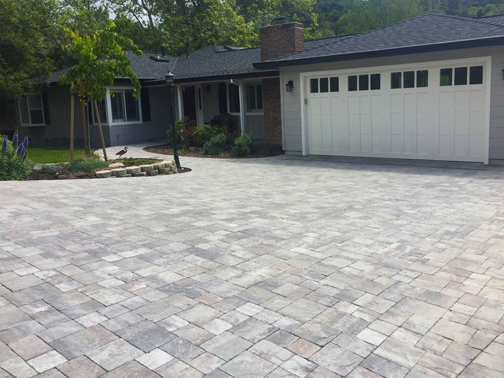 Driveway Color And Style Option Calstone Sierra Granite