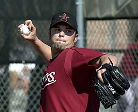 Jared Fernandez, pitcher (known for the knuckler), played for the Brewers, Reds, Red Sox and the Astros. He is originally from Utah. I had the pleasure of meeting him and working with him while volunteering for youth baseball in Kearns, Utah.