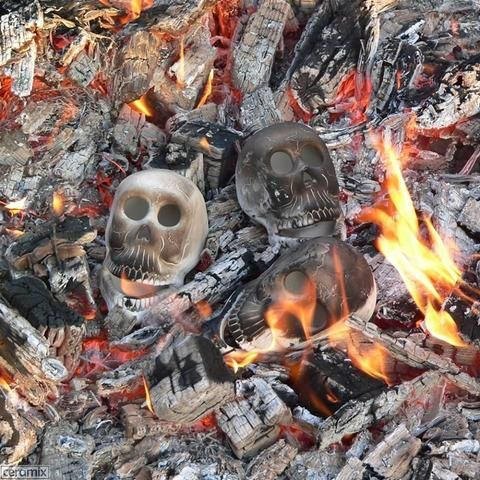 Are you having Zombie Skull Heads at your next braai? – Ceramix.co.za