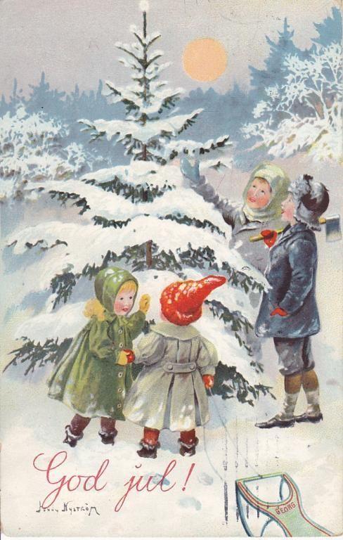 Vintage christmas - Jenny Nyström
