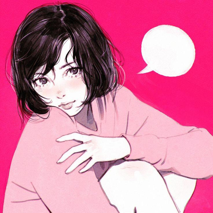 落書き13 [3] (Graffiti 13 [3 ])  #girl #pink #captionher