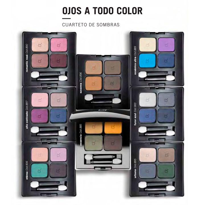 HOY $55.300 Antes: $79.000 (-30%) en Cuarteto de Sombras #Yanbal COLOR EFFECT. Envío Nacional #Colombia. http://www.descuentometro.com/producto/cuarteto-sombras-yanbal-color-effect/
