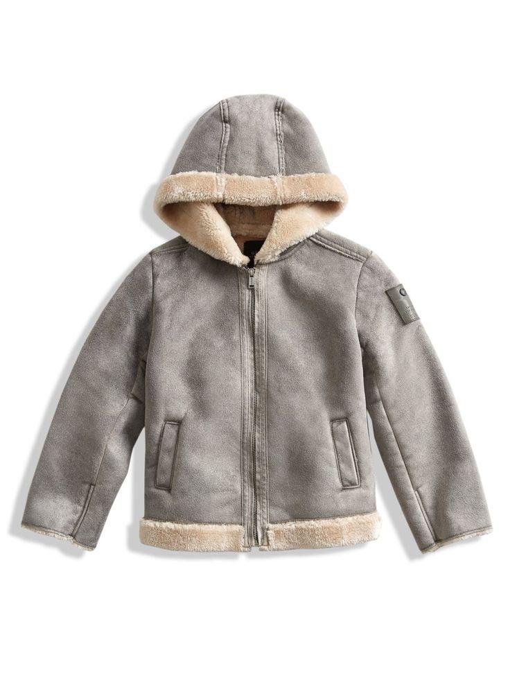 Faux-Fur Hooded Coat (2-6x)