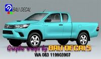 Sticker Full block Toyota Hilux