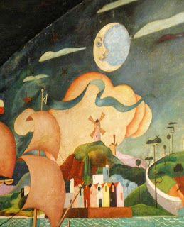 pePa roiG: Pinturas murales de Urbano Lugrís