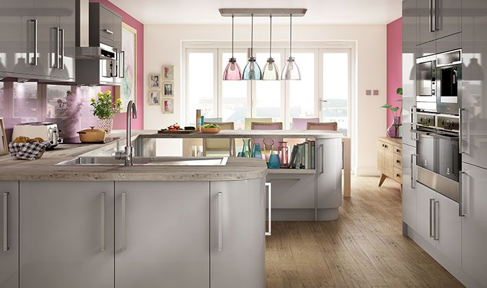 Wickes glencoe pewter kitchen glencoe pewter kitchen for Wickes kitchen designs
