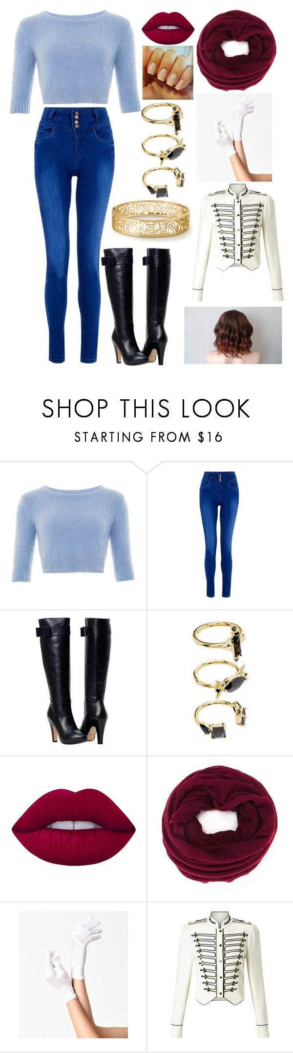 """Disney Villains Modernized: Prince Hans"" by kiara-fleming ❤ liked on Polyvore featuring Noir Jewelry, Lime Crime, Isabel Marant, Somerset by Alice Temperley and modern"