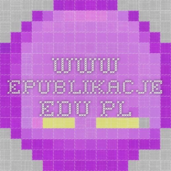 www.epublikacje.edu.pl