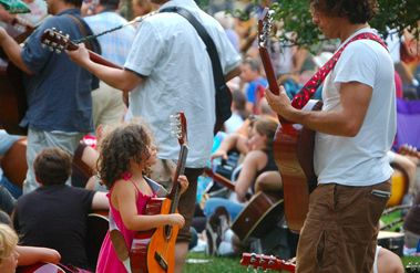 Why learning an instrument yourself will help your child play music