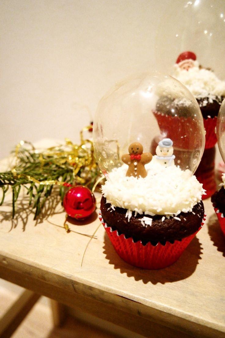 Snekugle muffins – lækre muffins med snekugle på toppen   Tvillingernesmor.dk