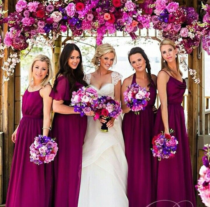 Now, trend colour for wedding is fushia! love or hate?