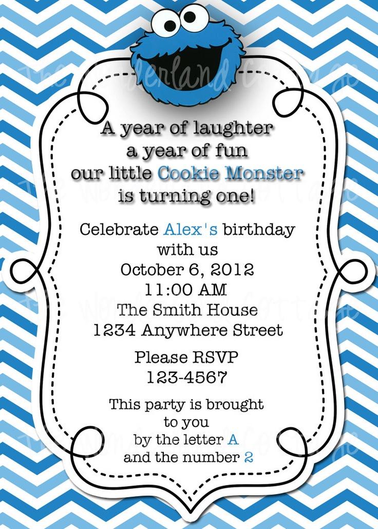 best 25+ monster invitations ideas on pinterest | monster party, Birthday invitations