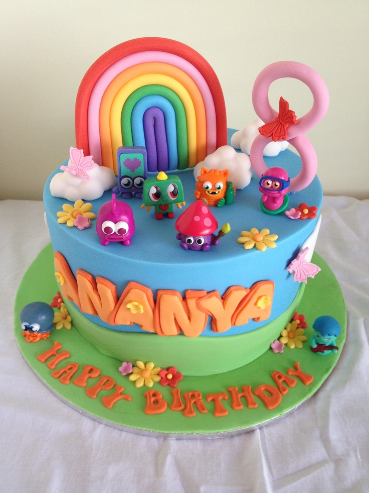 Moshi monsters cake by Sweet Caroline's Cakes