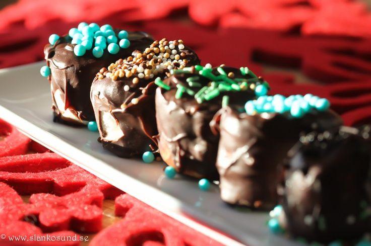 Marshmallows Doppade I Choklad Och Strössel #marshmallows #choklad #strössel #godis #marshmallowsrecipes #marshmallowsrecipe #marshmallowsrecept #marshmallowsrecette #slankosund
